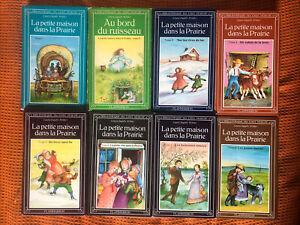 La Petite Maison Dans La Prairie Collection 8 Books -Laura Ingalls Wider -French
