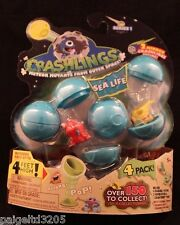 Crashlings Meteor Mutants from Outer Space Series 1 - Sea Life 4-Pack