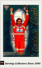 1994 Adelaide Grand Prix Trading Cards Victory Line Subset Vl7 Ayrton Senna