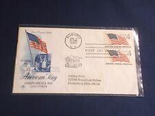 "Scott 1132  ""Flag (49 Stars)""  FDC Art Craft cachet with stamp pair"