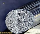 """DamaSteel Bluetounge Stainless Damascus 27mm 1.06"""" Dia x per lineal inch"""