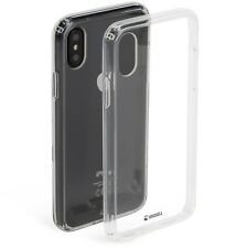 Krusell KIVIK Cover. Transparent Case for iPhone X XS - Clear