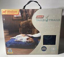 Coleman Tails N Trails Medium Rectangulaur Dog Airbed Pet Camping Comfort