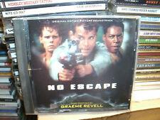 NO ESCAPE,GRAEME REVELL ,FILM SOUNDTRACK