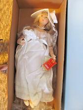 "NEW IN BOX LENCI BRIDE BIBIJA 24"" CLOTH DOLL #965611"