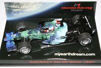 1:43 J BUTTON - Honda RA107, 2007 myearthdreams.com livery - F1 Minichamps