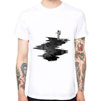 Diving Astronauts Men's Cotton Funny Cool T-shirts Short Sleeve Tops Tee