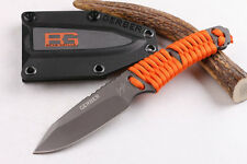 Gerber Bear Grylls Paracord Survival Fixed Blade Knife WIL-DK-45