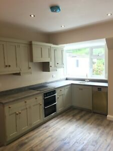 Bespoke Solid Wood Painted Shaker Kitchen