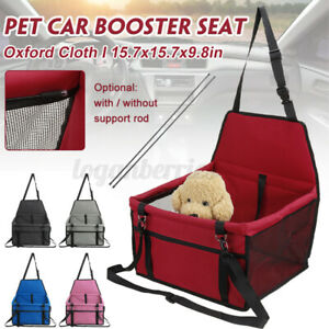 Travel Cat Dog Pet Car Booster Seat Puppy Auto Carrier Safety Protector