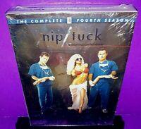 Nip/Tuck - The Complete Fourth Season (DVD, 2007, 5-Disc Set) Brand New B534
