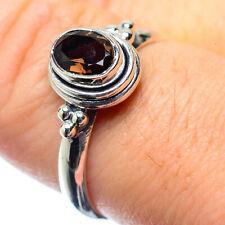 Smoky Quartz 925 Sterling Silver Ring Size 8 Ana Co Jewelry R26463F