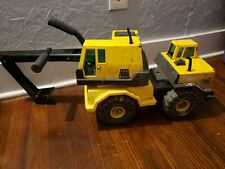 Vtg Tonka Mighty Diesel Xmb-975 1210 Pressed Steel Backhoe Excavator Truck 3931A