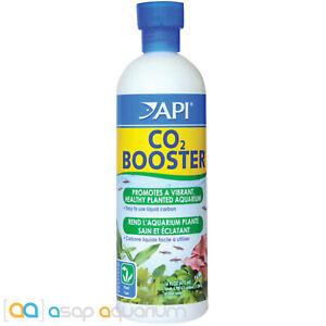 API CO2 Booster 16oz Liquid Carbon Promotes Vibrant Healthy Aquarium Plants