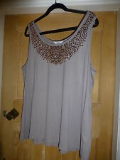 Women's Hip Length Sequin Party Vest Top, Strappy, Cami Tops & Shirts