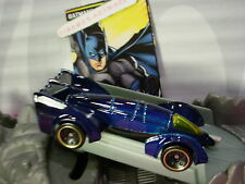 2017 BATMAN Design BATMAN LIVE BATMOBILE☆blue/yellow; sw5☆LOOSE Hot Wheels