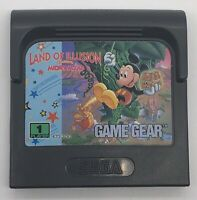 Land of Illusion Starring Mickey Mouse (Sega Game Gear, 1993) Cartridge Only