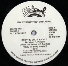 "ORS ‎– Body To Body Boogie - 12"" INCH    PROMO"