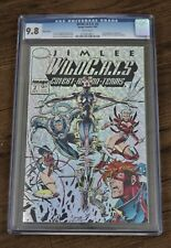WILDC.A.T.S. #2 CGC 9.8 White Pages 1992 IMAGE Foil Cover