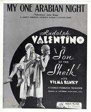 *THE SON OF THE SHEIK (1926) Rudolph Valentino Romances Vilma Banky Silent Film