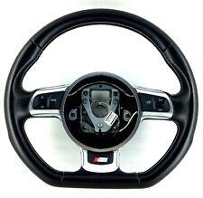 Genuine OEM Audi S3 flat bottom steering wheel 8P0419091CR. A3 TT MK2 8P 8J. 18E