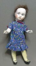 """antique 5.5"""" Bisque head German Doll Crude composition body all jointed #17"""