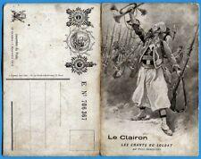 CPA Patriotique: Le Clairon - Les Chants du Soldat / Guerre 14-18
