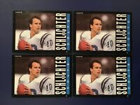 1985 Topps # 266 ART SCHLICHTER Rookie Indianapolis Colts Lot 4 Ohio State Cheap