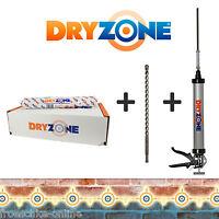 10 x Dryzone Injektionscreme - Horizontalsperre gegen aufsteigende Feuchtigkeit