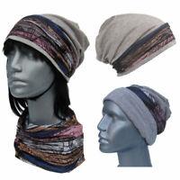 Cool4 Beanie Light Grey Vintage Kopftuch-Look - 2erSet Chemo Turban SBK16