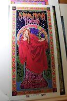 Stevie Nicks and Friends 2001 Original Show art Poster 60s Signed Bob Masse