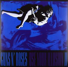 GUNS N' ROSES USE YOUR ILLUSION II DOPPIO VINILE LP 180 GRAMMI NUOVO SIGILLATO