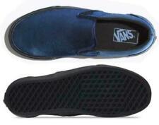 Vans Classic Slip-On Metallic Twill Dress Blue  Men's 7 Womens 8.5 VN0A38F7ULU