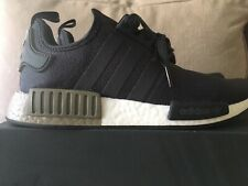 AUTHENTIC adidas Originals NMD R1 Runner Carbon Green Trace Cargo  Men size 9