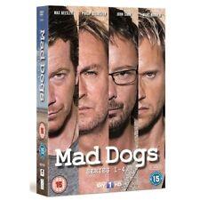 Mad Dogs Series 1 2 3 4 Season 1-4 Region 4 New DVD (4 Discs)