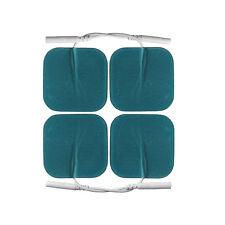 Elektroden 5x5cm f. TENS EMS Gerät.Pads für sensible empfindliche Haut 2mm- Pin