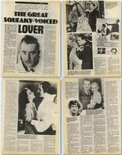 Screen Star John Gilbert, Good Looks, Bad Voice News Article