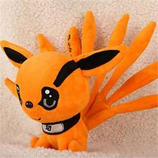Anime Naruto Uzumaki Kyuubi Kurama Nine-Tales Fox Demon Plush Stuffed Doll 10""