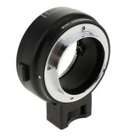 Electronic Auto Focus Adapter for for Nikon F-Mount Lens to Sony E Mount Camera