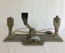 Vintage 1952 Mansfield 8MM & 16MM Auto Splice Film Splicer w/ Reels Lights Up