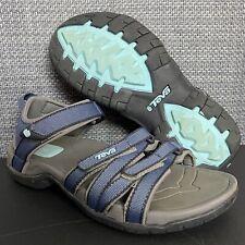 Teva Tirra 4266 Womens Size 6 Walking Sandals Strappy Blue