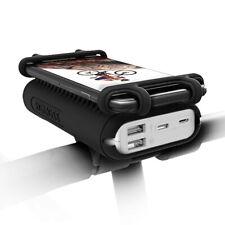 """ROMOSS Powerbank 10000mAh Motorrad Fahrrad Handyhalter USB Zusatzakku Für 4-5,5"""""""