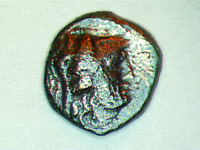 KALLATIS, MOESIA-3rd to 2nd century BC (Ancient Greek Coin)ATHENA and GRAIN #67