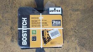 Bostitch BTFP72155 Smart Point 15 Gauge DA Style Finish Nailer - NEW