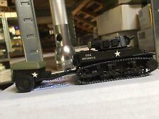 ASAM STUART M8 HMC + M10 AMMO TRAILER HT 76 EN WHITE METAL 1/48
