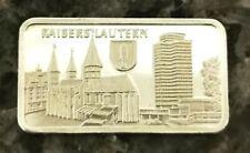 1 Unze Silberbarren - Kaiserslautern  V1