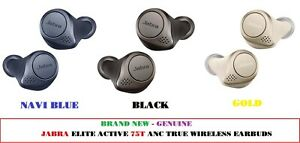 BRAND NEW - GENUINE Jabra Elite Active 75t ANC True Wireless Earbuds Full Colour