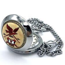 Vintage MOLNIJA Retro Pocket Watch Mens Soviet Baikal RARE NOS Tested Enamel Old