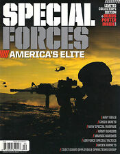 SPECIAL FORCES America's Elite Limited Ed. Navy SEAL Team Six Delta Force POSTER