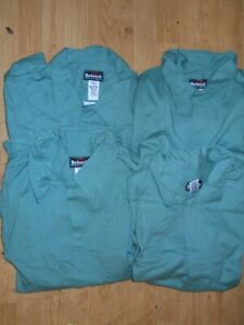 NEW 4 Bulwark Excel FR Flame Resistant Long Sleeve Button Shirts XL NWOT (B31)